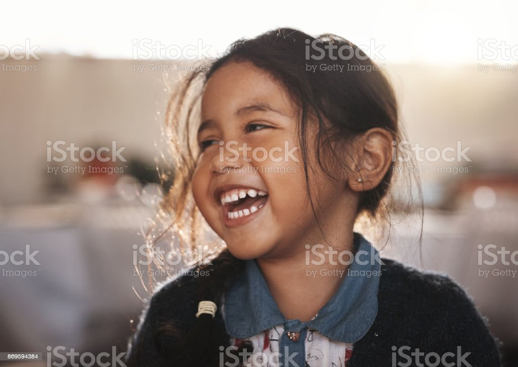 She's simply adorable stock photo