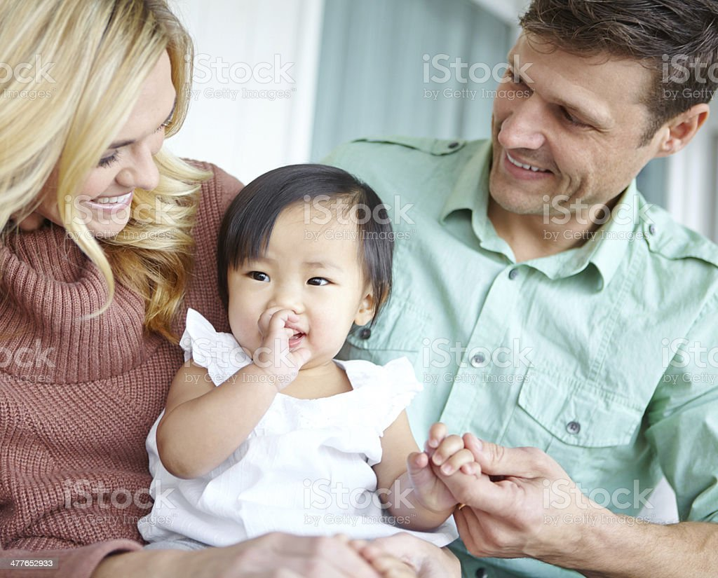 She's so adorable! royalty-free stock photo