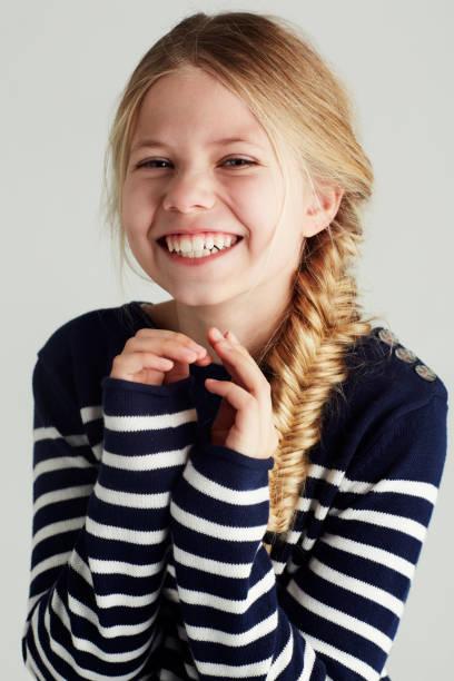 Happy teenage girl stock photo She's so cute and carefree stock photo ...