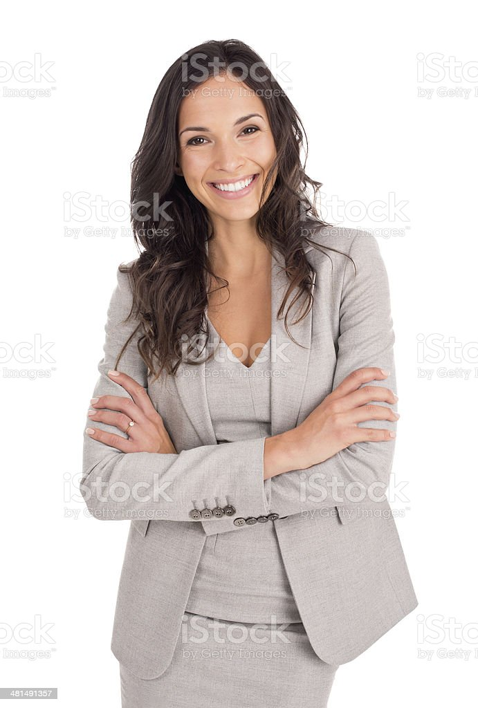 She's talented and beautiful stock photo