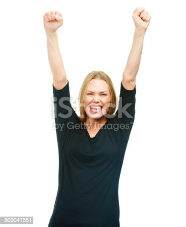 500150419istockphoto She's the greatest and she knows it 503041551