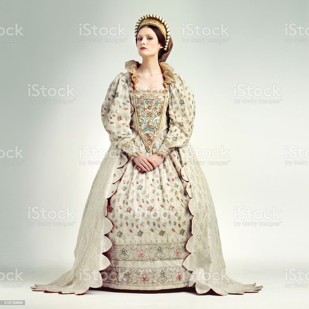 She's the quintessential sovereign stock photo