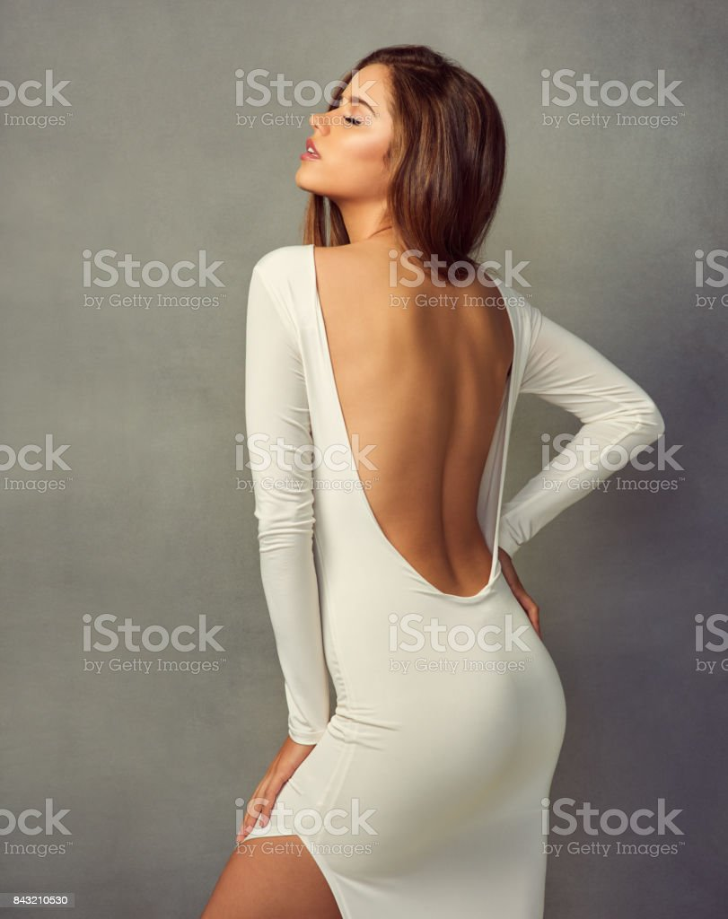 She's utterly gorgeous stock photo