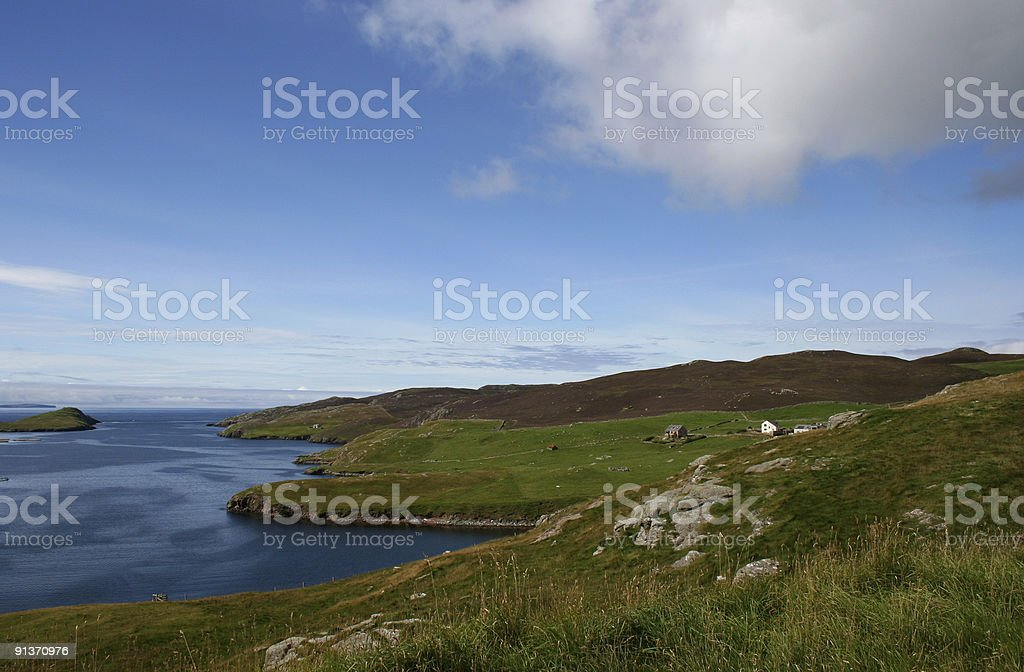Shetland Isles royalty-free stock photo