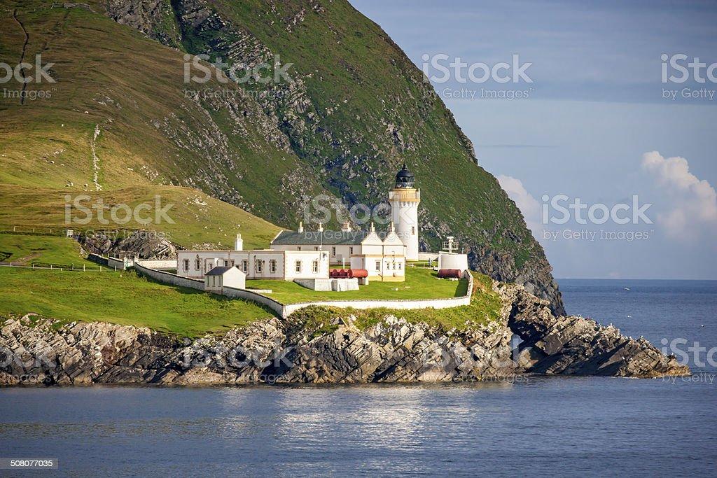Shetland Lighthouse 3 stock photo