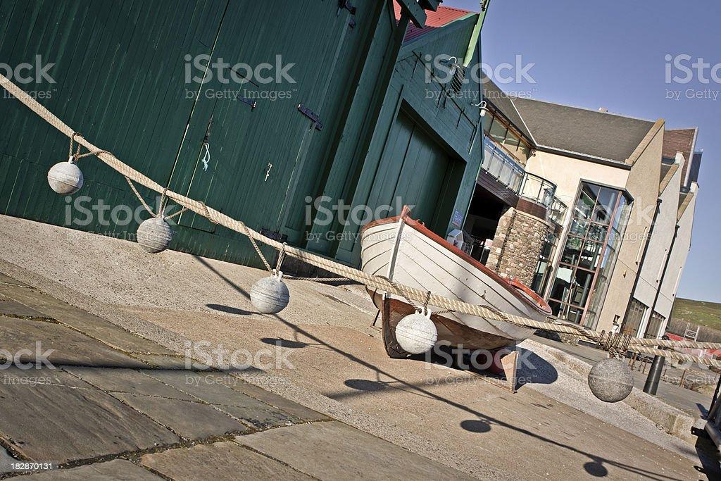 Shetland Museum stock photo