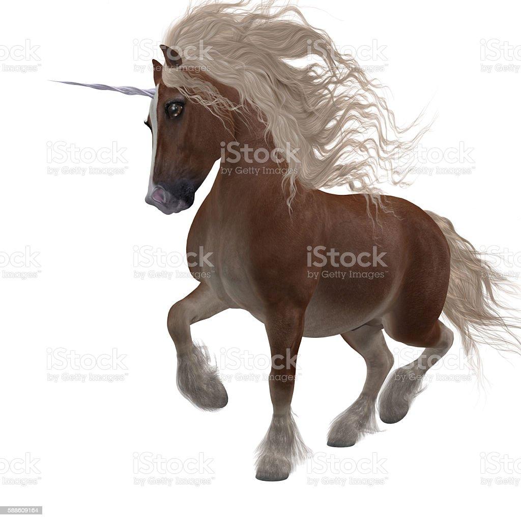 Shetland Unicorn stock photo