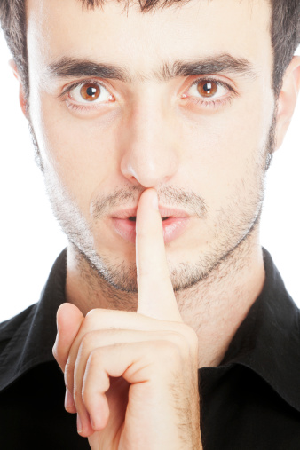 Shhhhhh Stock Photo - Download Image Now - iStock