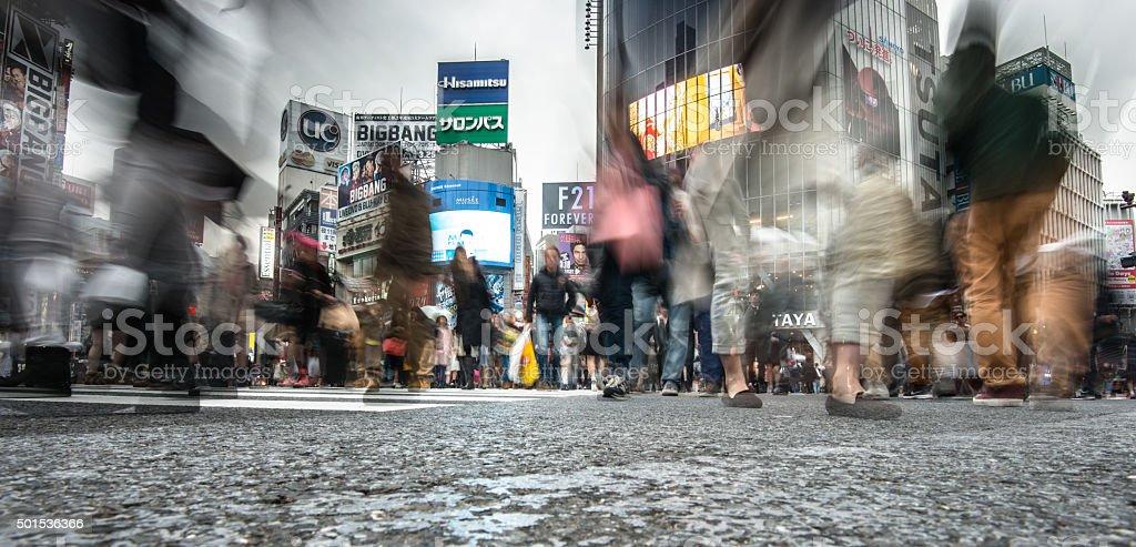 Shibuya in Tokyp stock photo