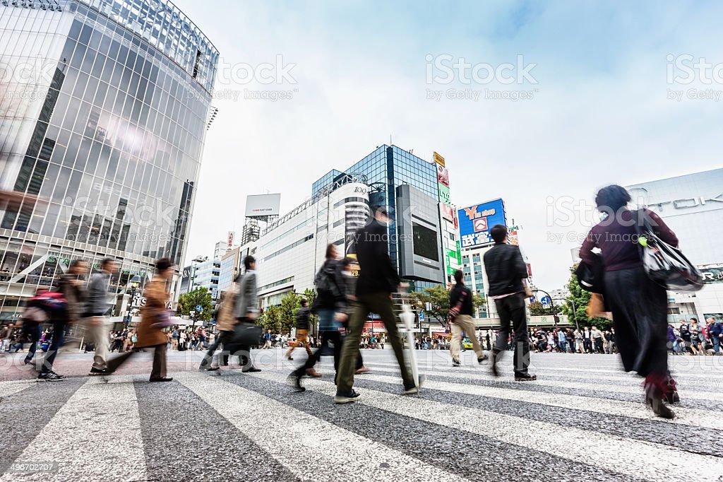 Shibuya Tokyo, Japan stock photo
