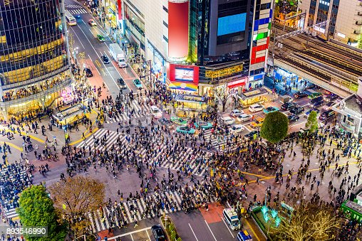 istock Shibuya, Tokyo, Japan 893546990