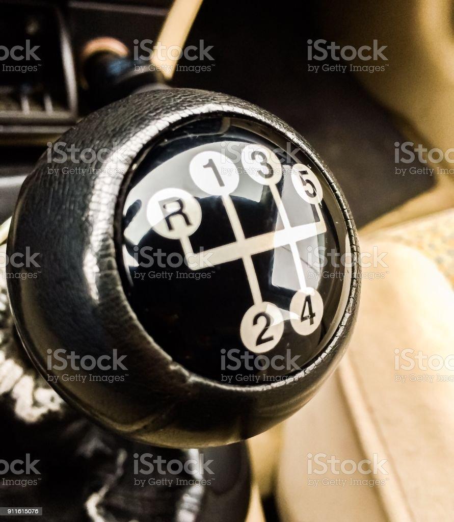 Shift Into Gear stock photo