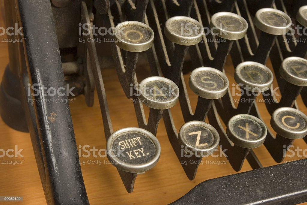 Shift Key royalty-free stock photo