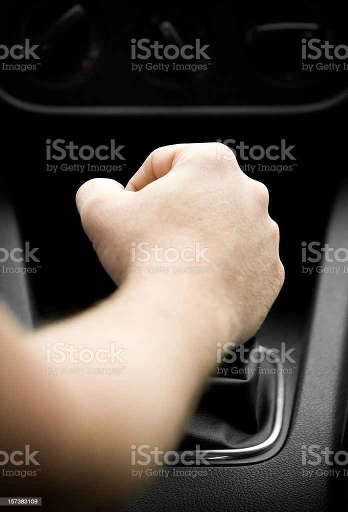 Shifting Gears. royalty-free stock photo