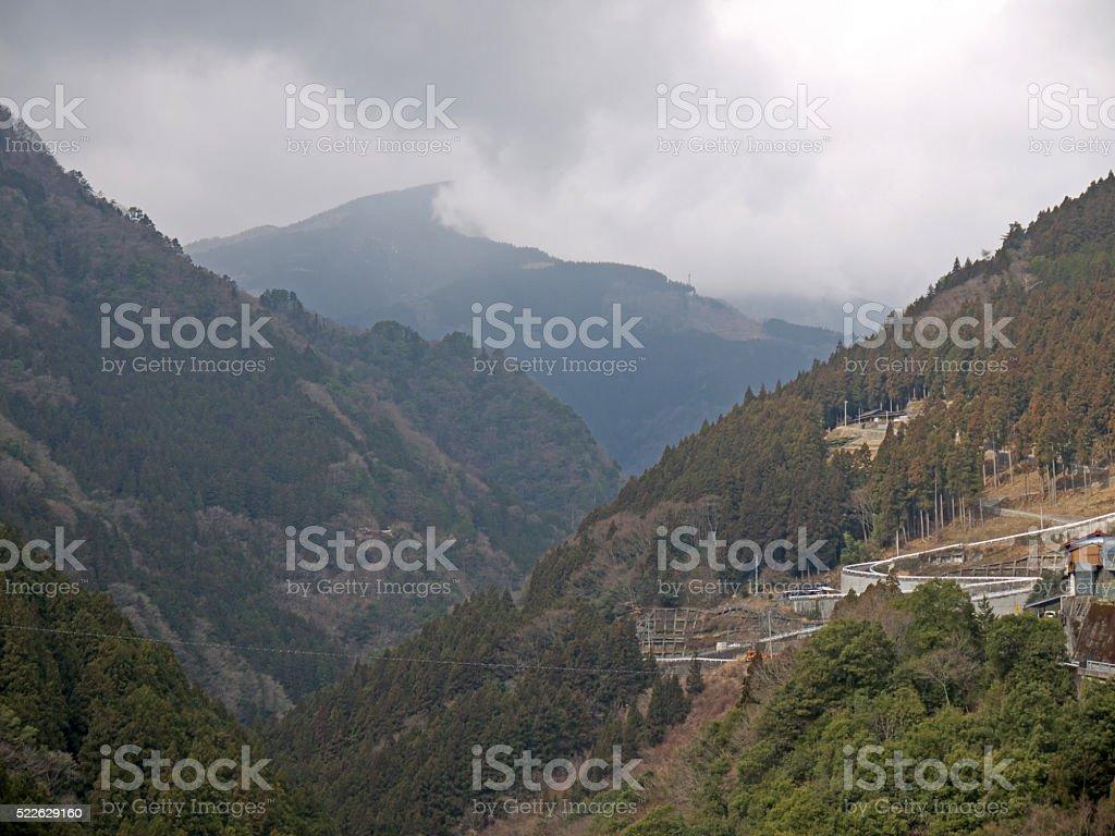Shikoku nature stock photo