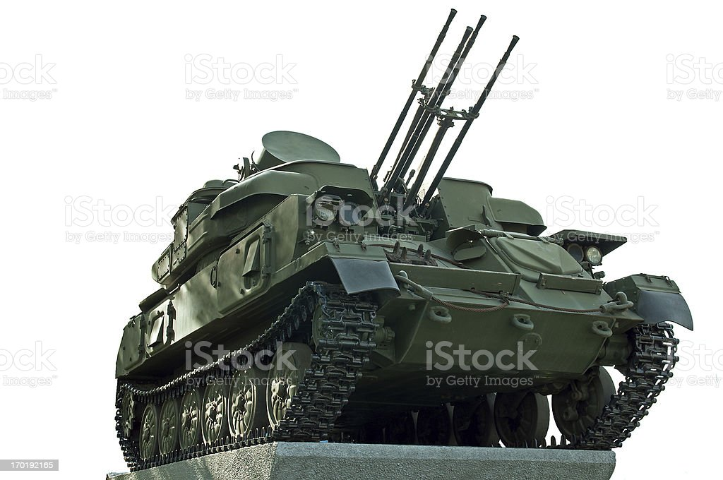 shilka tank stock photo