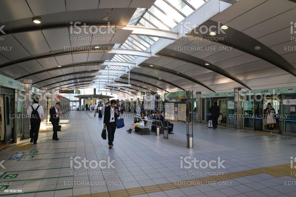 Shimbashi station, Tokyo, Japan stock photo