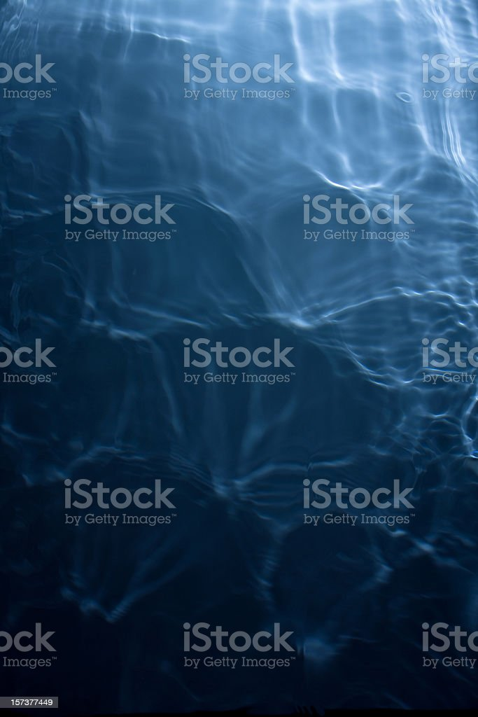 Shimmering deep water background (see below for more liquid pictures) royalty-free stock photo
