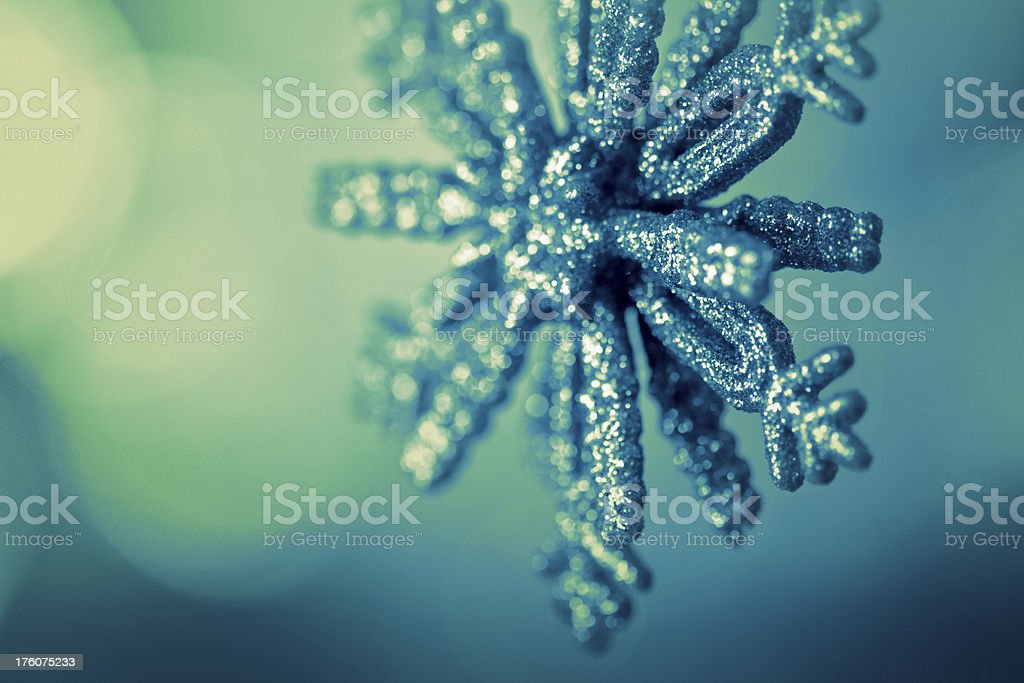 shimmery ornament royalty-free stock photo