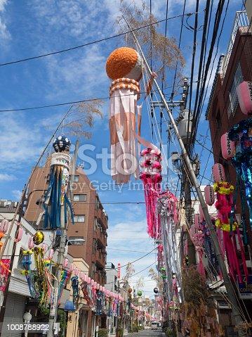 1008788822 istock photo Shimomachi Tanabata Festival in Tokyo 1008788922