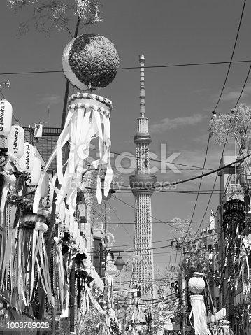 1008788822 istock photo Shimomachi Tanabata Festival in Tokyo 1008789028