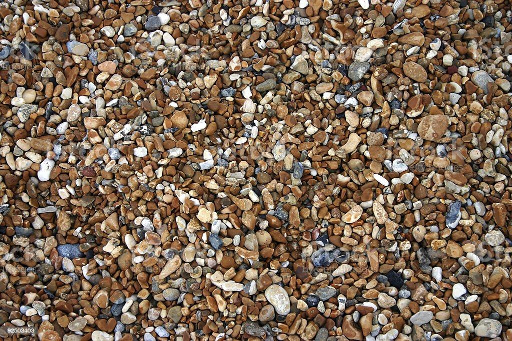 Shingle Beach royalty-free stock photo
