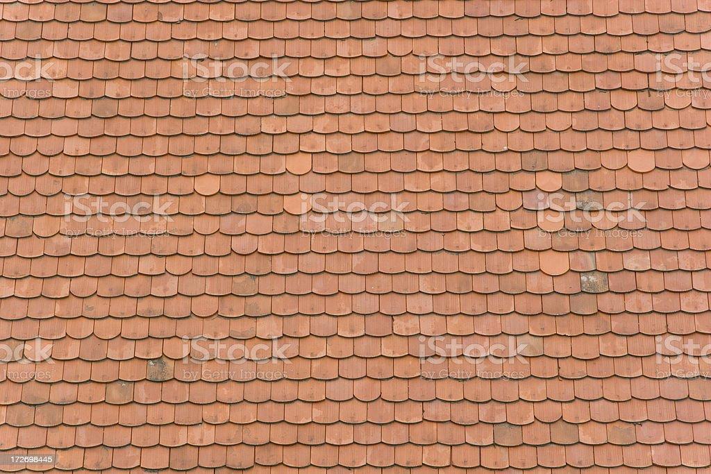 Shingle roof royalty-free stock photo