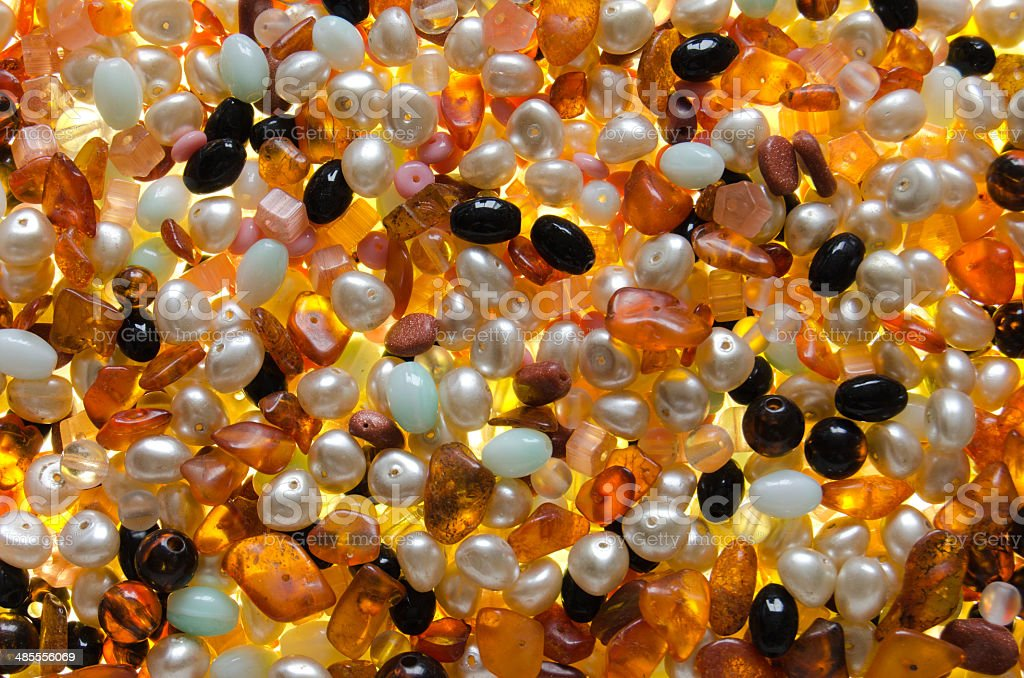 shining beads as a background royalty-free stock photo