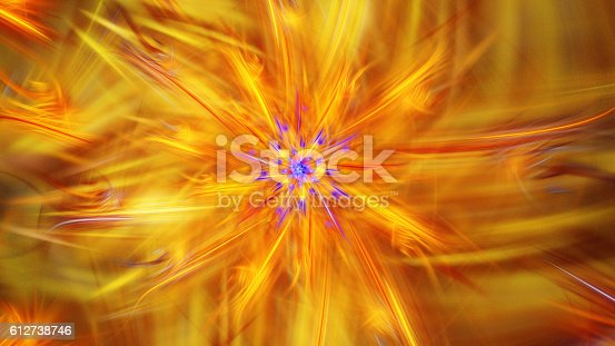 istock Shining brightest stars. Exotic flower. 612738746