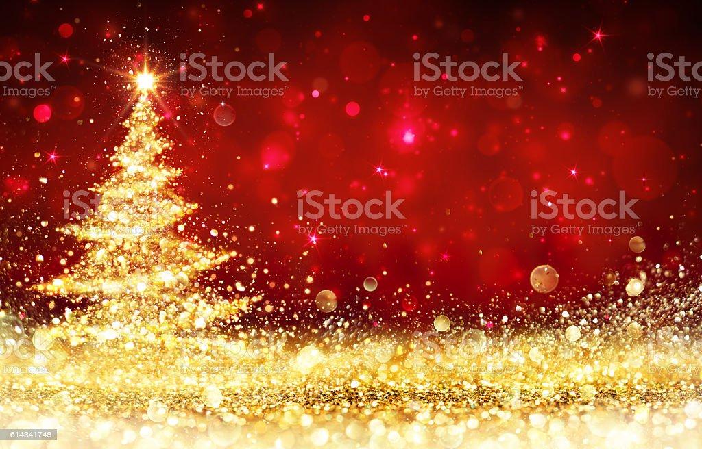 Glänzende Christmas Tree – Foto