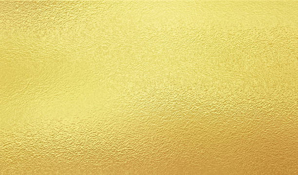 shining gold foil - foil stock photos and pictures