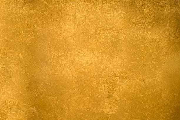 Shining gold texture stock photo