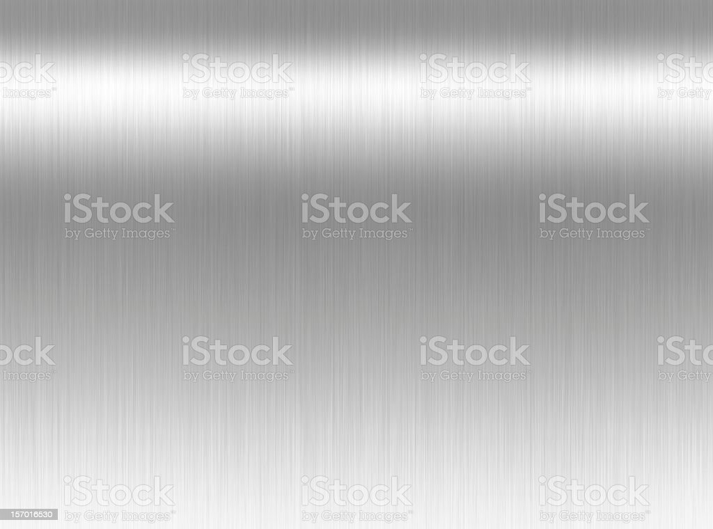 Shining gray steel metal background stock photo