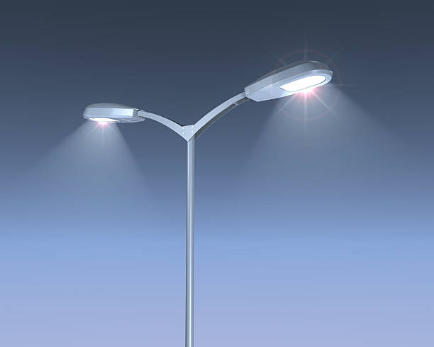 Royalty free street light pictures images and stock photos istock shining lamps post stock photo mozeypictures Images