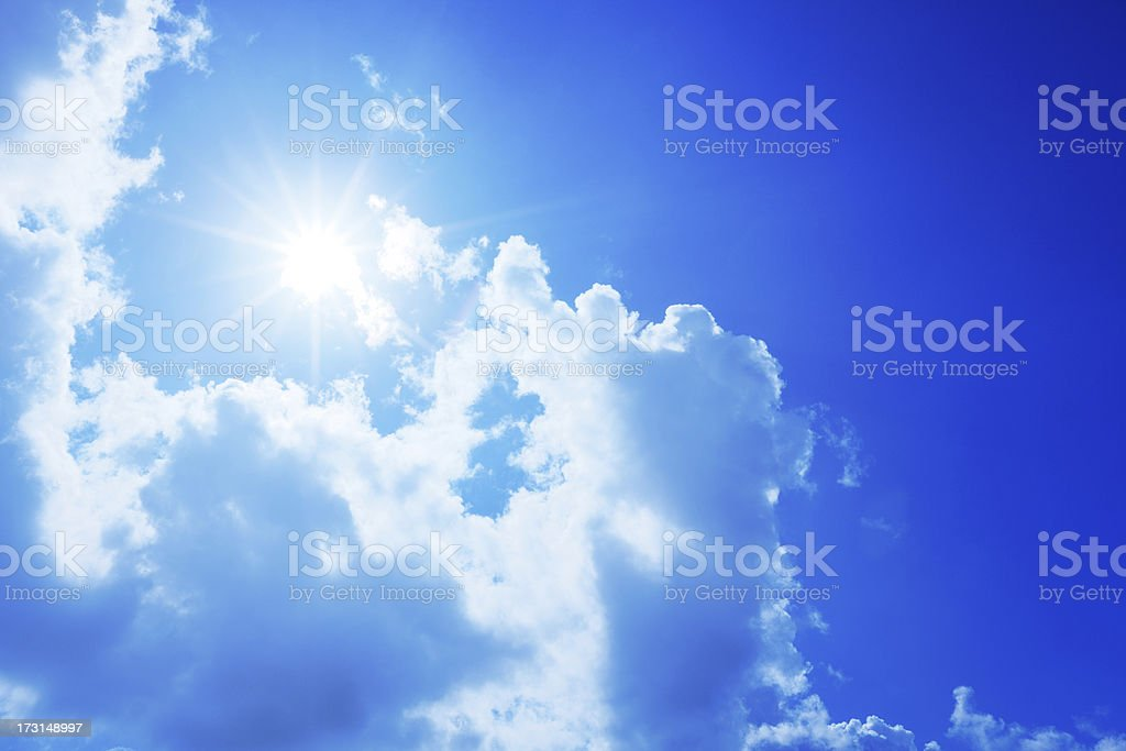 Shining royalty-free stock photo