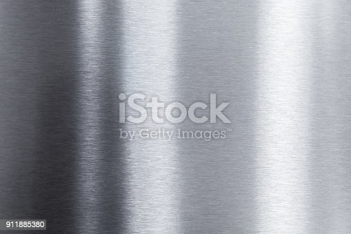 911885384 istock photo Shining polished stainless steel sheet 911885380