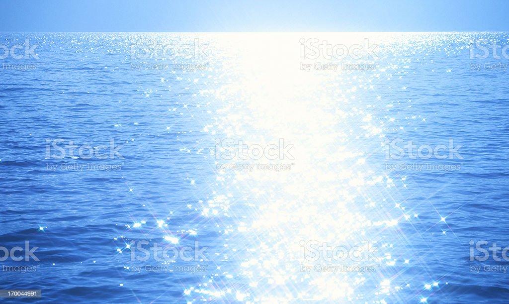Shining Water stock photo