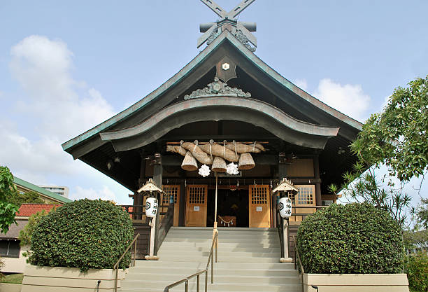 Shinto Shrine in Honolulu, Hawaii
