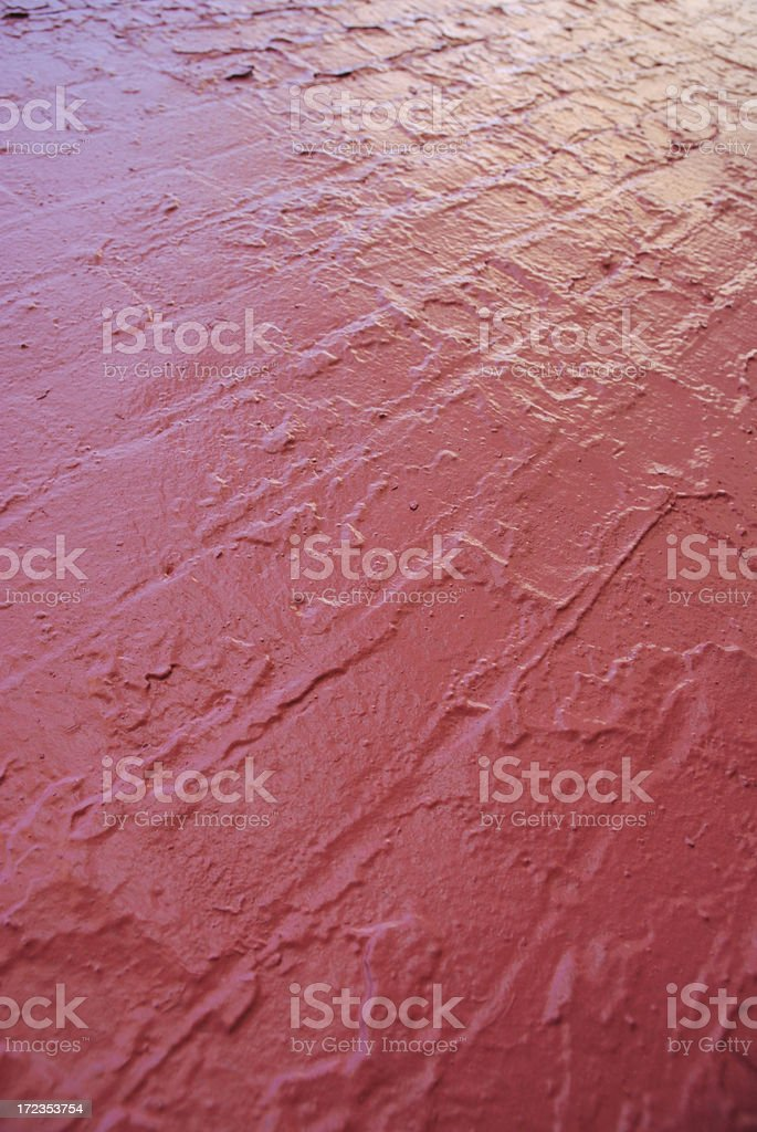 Shiny Bright Red Painted Brick Wall Background royalty-free stock photo