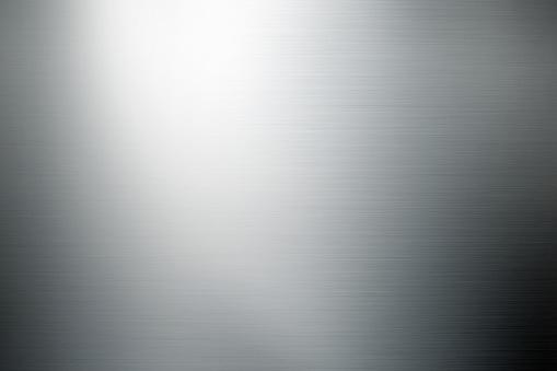 close up shot of brushed metal surface.
