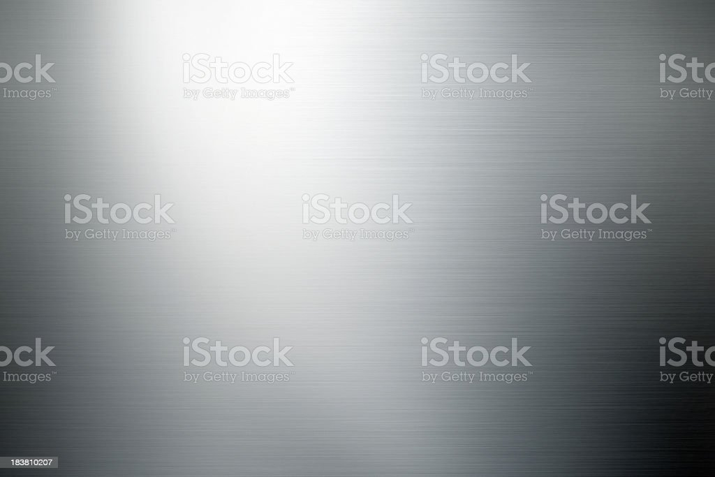 shiny brushed metal background stock photo