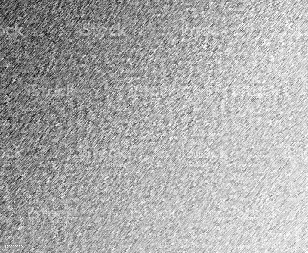 Shiny Brushed Steel background stock photo