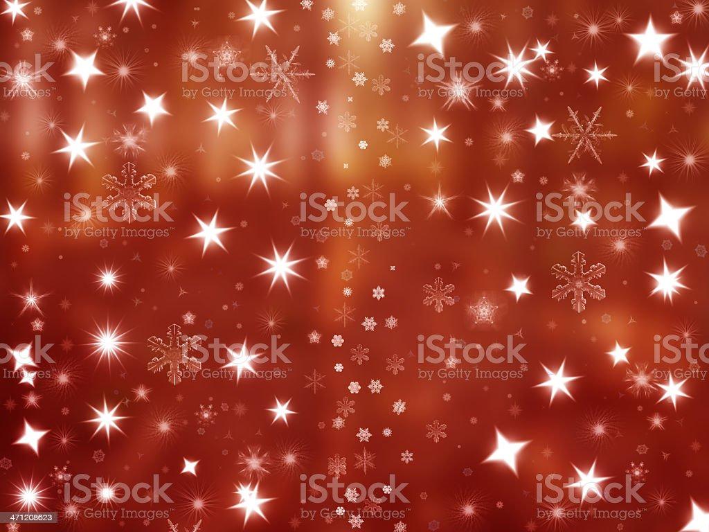 Shiny Christmas background royalty-free stock photo