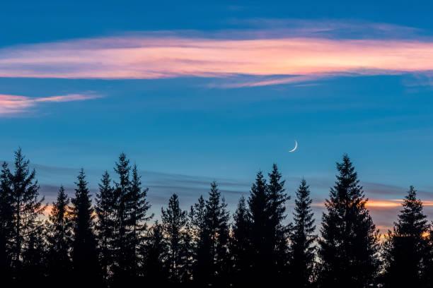 Shiny clouds stock photo