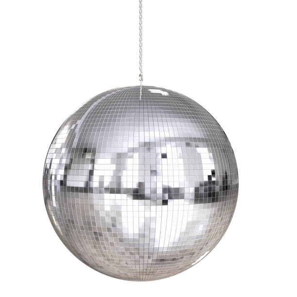 shiny disco ball - clubbing stock pictures, royalty-free photos & images