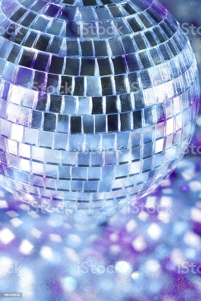 Shiny disco ball royalty-free stock photo