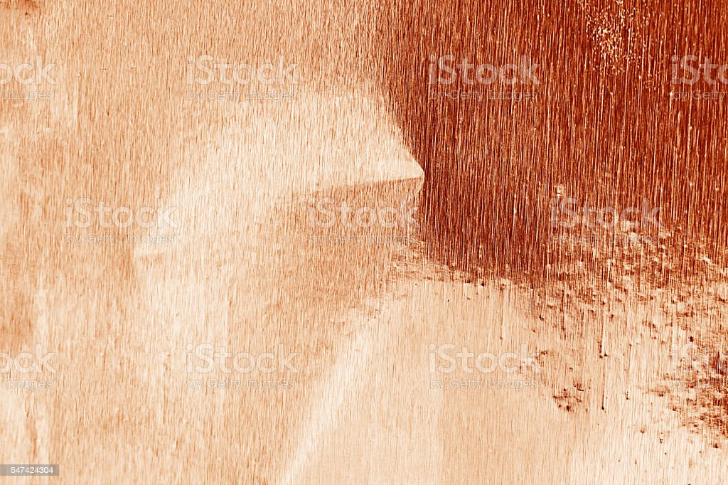 Shiny foil texture for background. Rose gold color. - Photo
