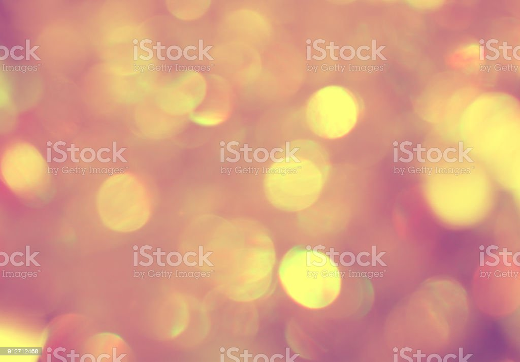 Shiny glowing bokeh beautiful abstract background design stock photo