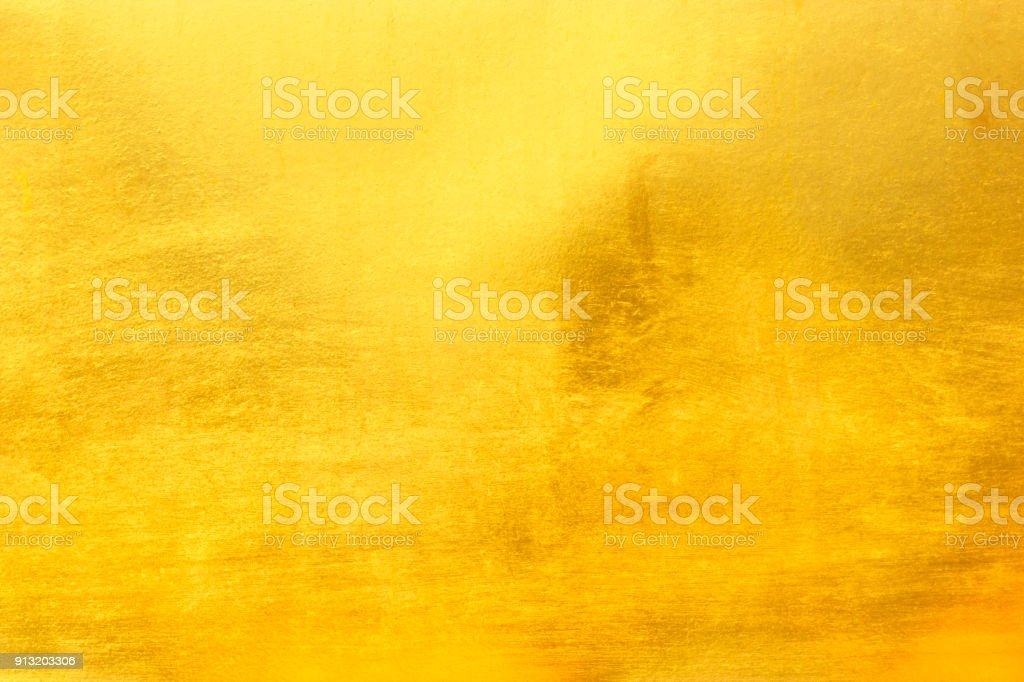 58b97df9056f Shiny Gold Metal Stock Photo   More Pictures of Abstract