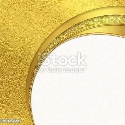 istock Shiny golden background with place for text 862023358
